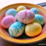 Pretty Crackle Easter Eggs