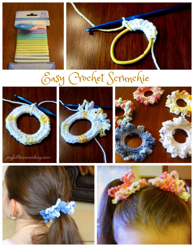 Easy Crochet Scrunchie