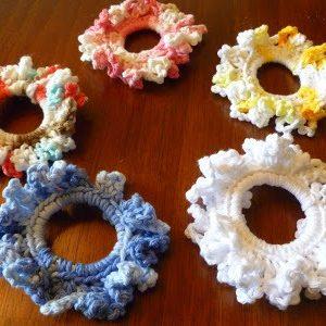 Easy Crochet Scrunchie