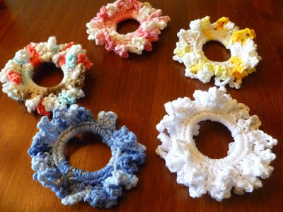 Easy Crochet Scrunchie Joyful Homemaking