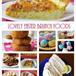 Easter Brunch Dishes