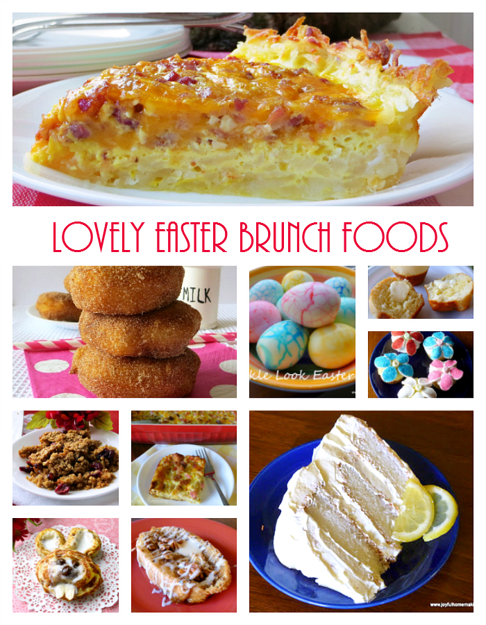 Easter Brunch Foods