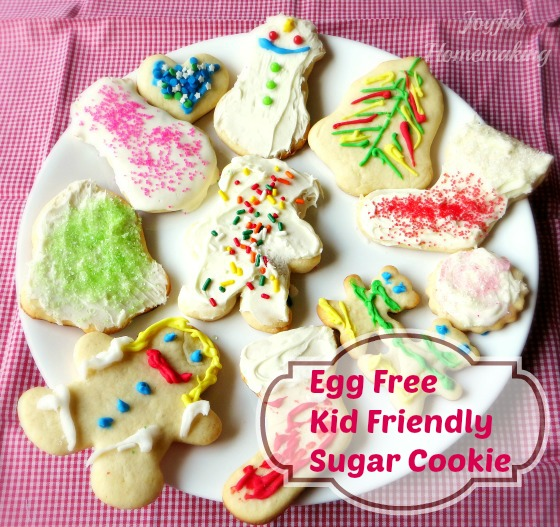 Egg Free Sugar Cookies92