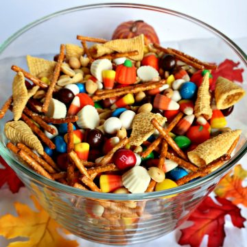 Fall Sweet and Salty Snack Mix, Joyful Homemaking