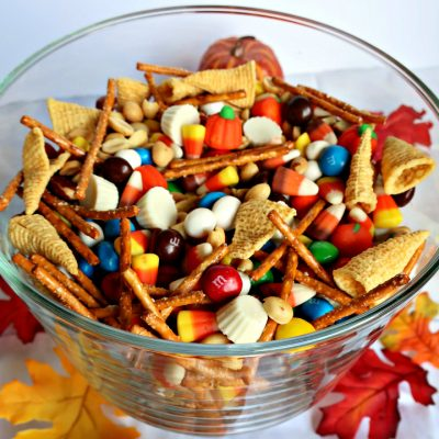 Fall Sweet and Salty Snack Mix