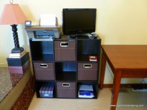 family room organization