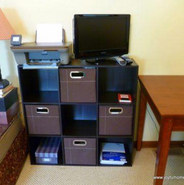 Family Room Organization