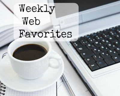 , Weekly Web Favorites, Joyful Homemaking