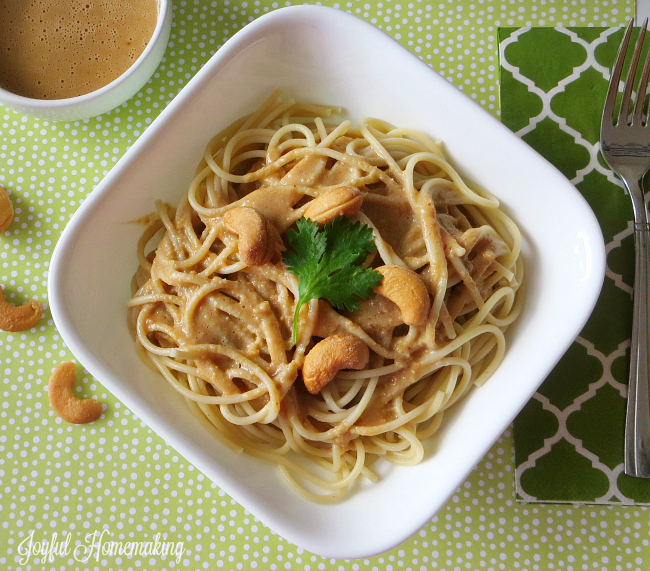 featured size for cashew sesame noodles
