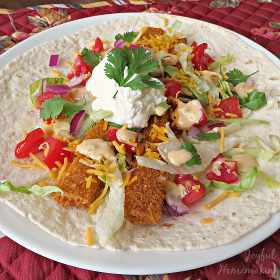 fish tacos is one of many great dinner ideas
