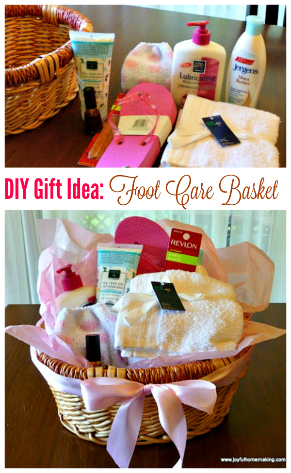 Gift idea: Foot Care Basket