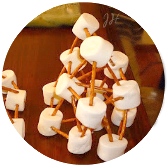 building with marshmallows, Family Food Fun, Joyful Homemaking