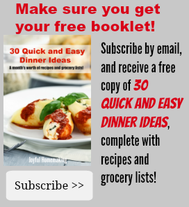 Free download of 30 easy meals with recipes joyful homemaking free download of 30 easy meals with recipes forumfinder Images
