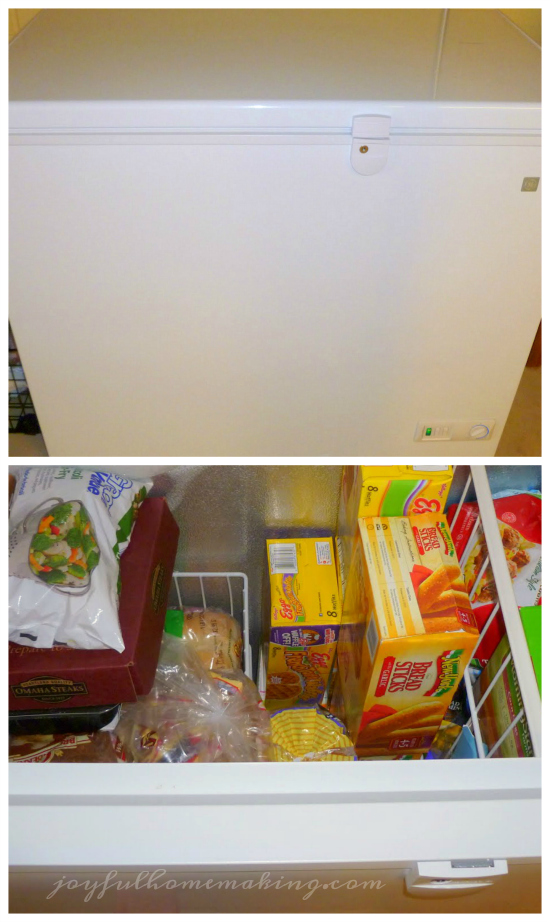 Inventory List for Freezer, Joyful Homemaking