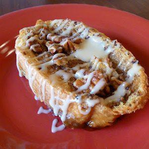 Baked French Toast with Caramel Glaze