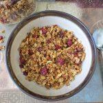 quinoa granola, Coconut Quinoa Granola,
