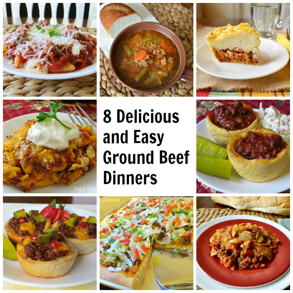 8 More Delicious And Easy Ground Beef Dinner Ideas
