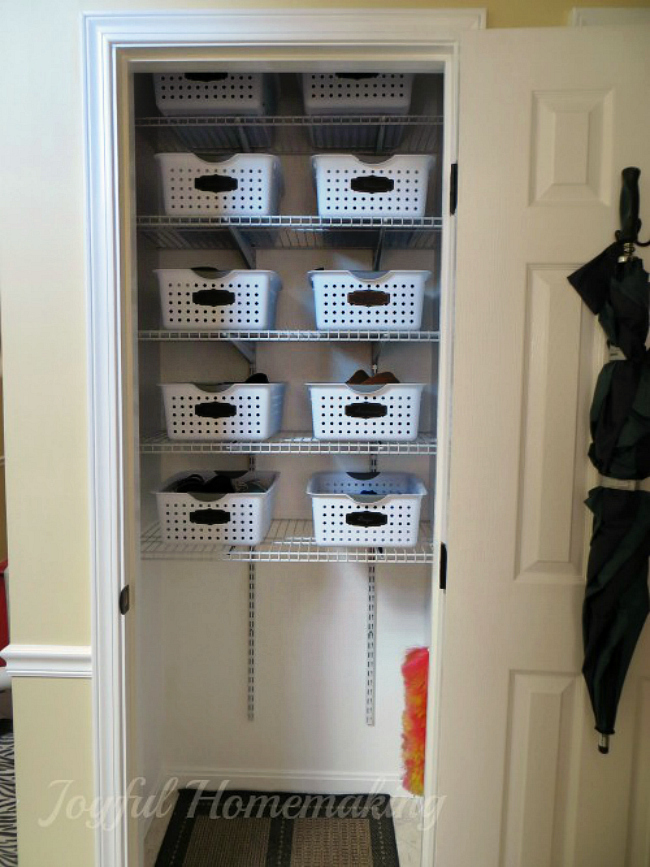 shoe storage organization, Shoe Storage Ideas, Joyful Homemaking