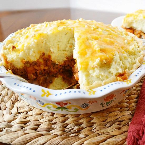 shepherd's pie, Hamburger Pie, Joyful Homemaking