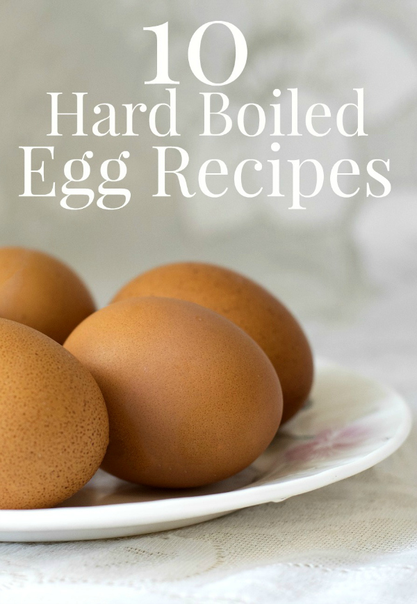 Hard Boiled Egg Recipes