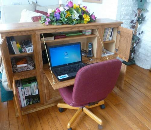 headboard desk