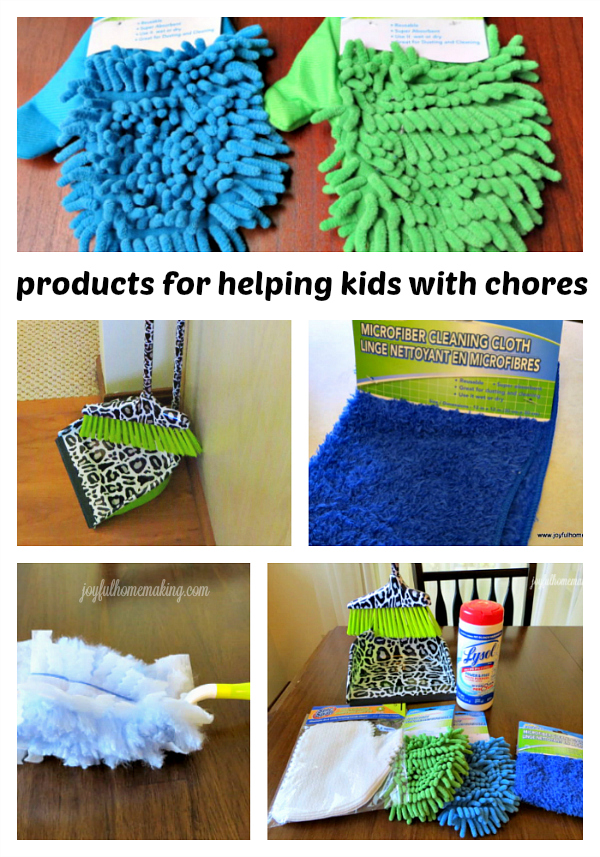 Products Helping Kids Chores, Products for Helping Kids with Chores, Joyful Homemaking