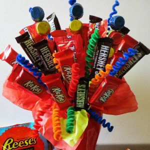 Make a Birthday Candy Bouquet
