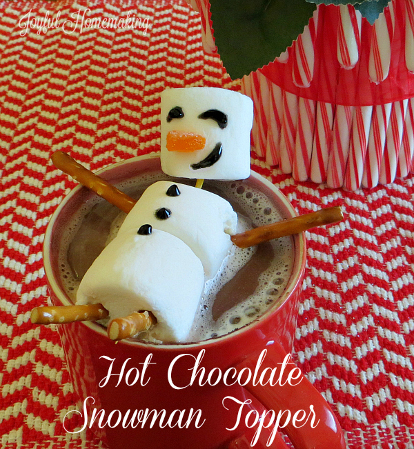 hot cocoa marshmallow snowman6