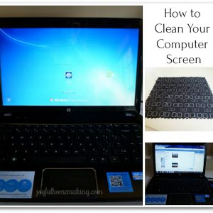How to Clean Your Computer Screen