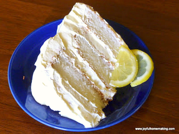 icebox lemon angelfood cake