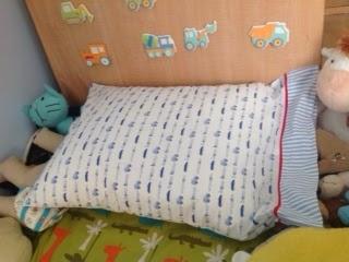 upcycled pillowcase