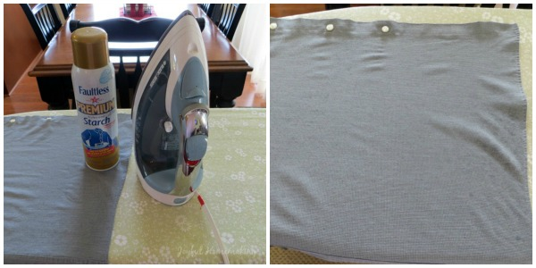 using starch to iron, Faultless Starch and My Ironing Routine, Joyful Homemaking