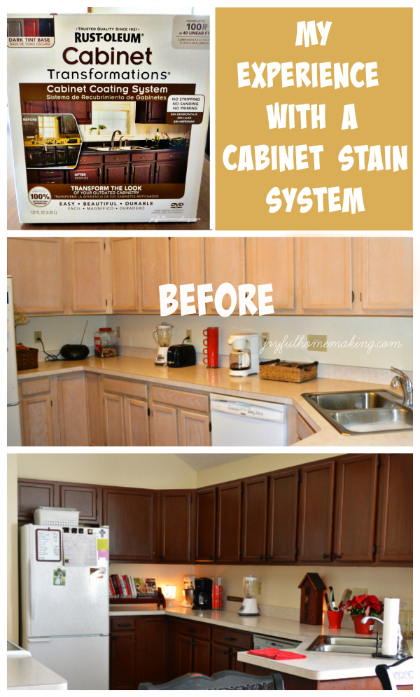 Kitchen Cabinet Redo