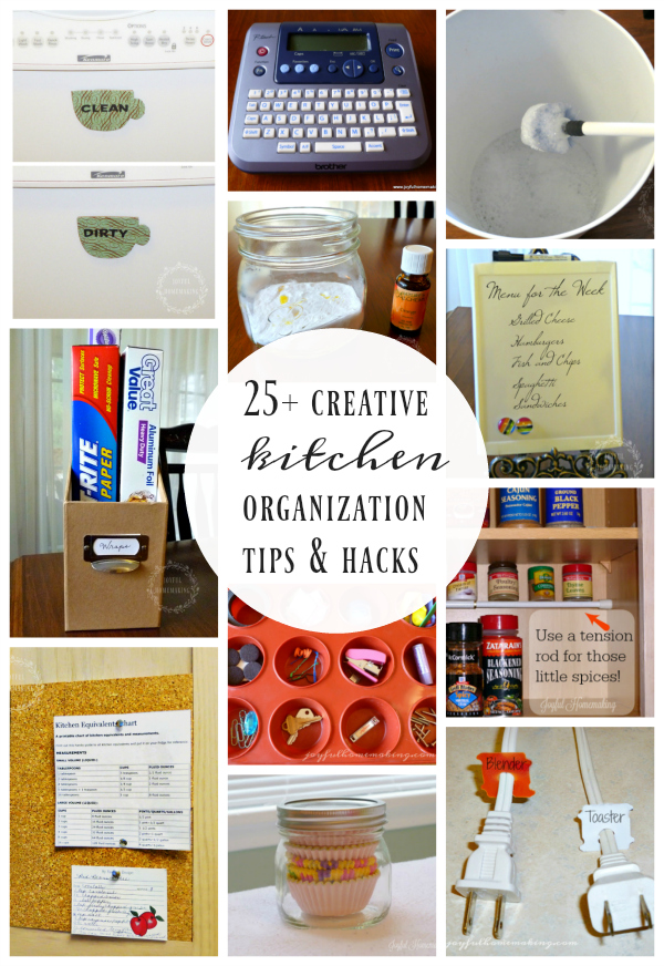 25 Kitchen Cleaning and Organizing Tips