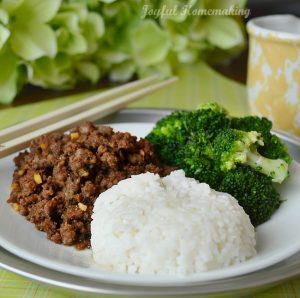 Korean beef, korean chicken, Amazing Korean Beef Recipe & Great Flavoring for Chicken Too, Joyful Homemaking