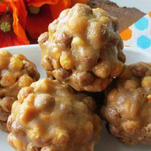 cereal peanut butter balls, Reese's Puffs Peanut Butter Balls, Joyful Homemaking