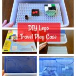 Travel Lego Play Case