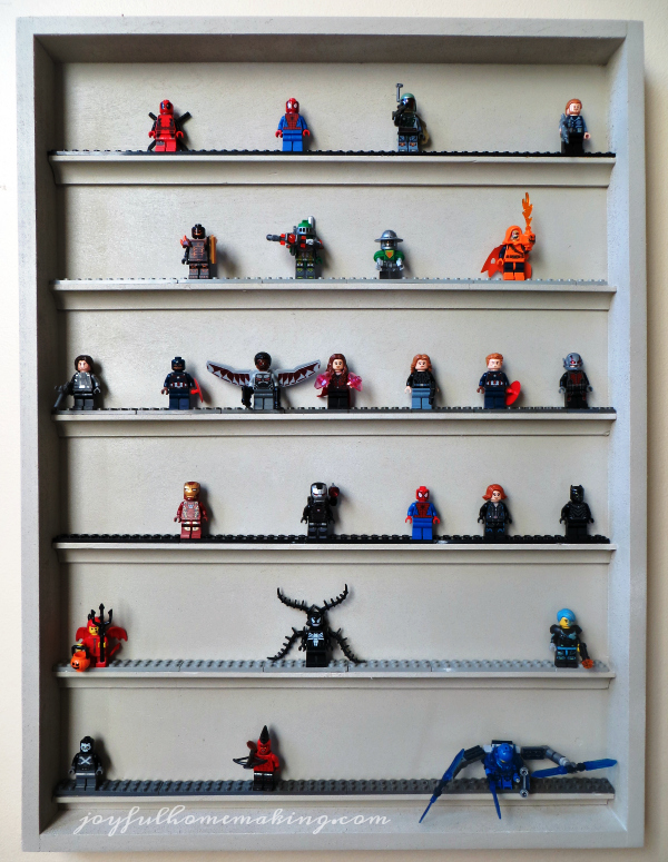 DIY Lego Display Shelf