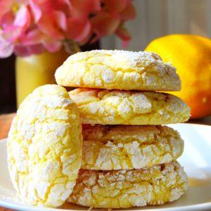 lemon cookies, Light and Chewy Lemon Cookies, Joyful Homemaking