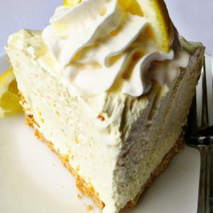 3 Ingredient Icebox Lemon Pie