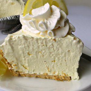 3 Ingredient Icebox Lemon Pie