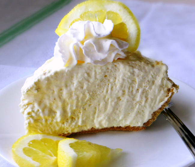 Icebox Lemon Pie
