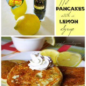 lemon poppyseed pancakes, Lemon Poppy Seed Pancakes, Joyful Homemaking