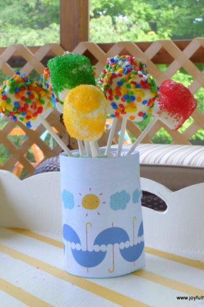 , Find the 7th Minion and Make a Minion Marshmallow Pop, Joyful Homemaking