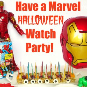 Have a MARVEL Halloween Watch Party