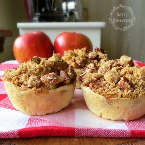 Easy Mini Apple Pies, Joyful Homemaking