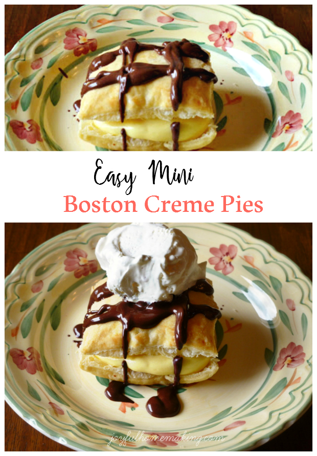 Mini Boston Creme Pies