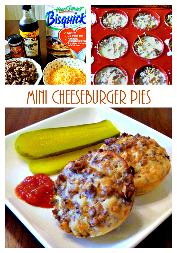 cheeseburger pies, Mini Cheeseburger Pies, Joyful Homemaking