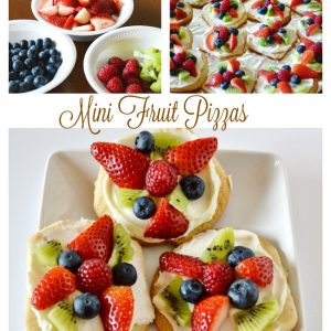 Mini Fruit Pizzas, Joyful Homemaking