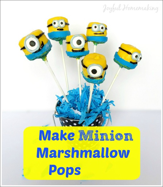 minion marshmallow pops2